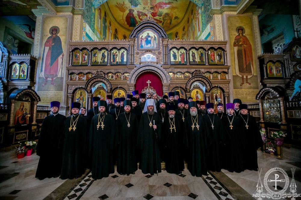 Священство Бориспільського району зберігає єдність з Українською Православною Церквою
