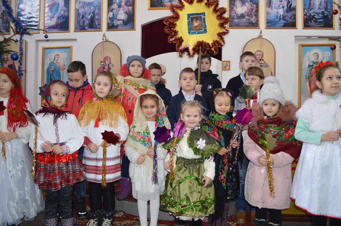 Свято Різдва Христового в парафіях єпархії (оновлено)