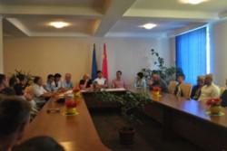 ЯГОТИН. Круглий стіл з питань надання соціальної допомоги демобілізованим учасникам бойових дій на Сході України