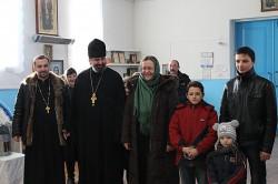ОСЕЩИНА. Парафія допомагає переселенцям із Луганської області