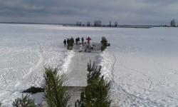ВИШГОРОД. На Київському Водосховищі звершено Чин Великої Агіасми (відео)