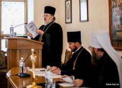 Єпархіальна Літургічна комісія презентувала український переклад Всенічного бдіння