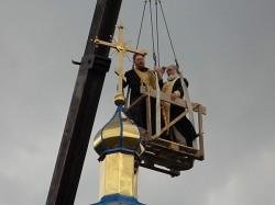 БАРИШІВКА. У селі Бакумівка завершується будівництво православного храму (+відео)