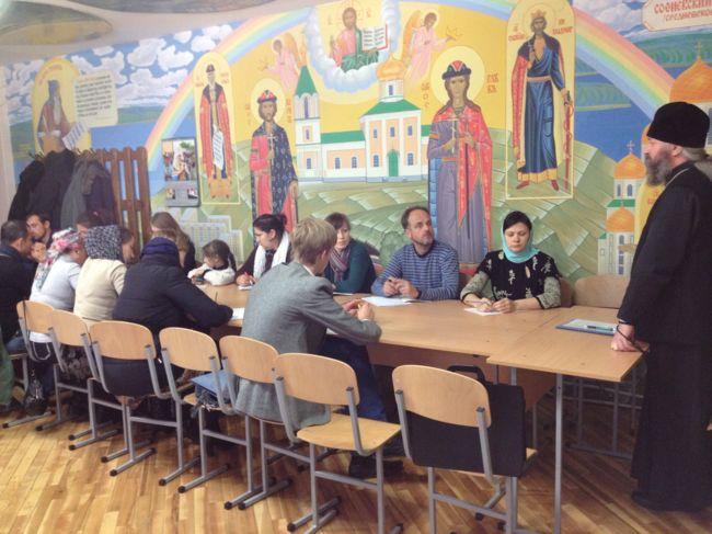ВИШГОРОД. У парафії Бориса і Гліба почалися заняття на катехізатерських курсах